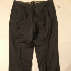 Dockers D4 Relaxed Fit Gray Dress Pants Size 38x29